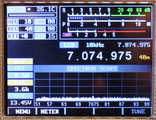 M0VSE Amateur Radio - Building the M0NKA mcHF QRP SDR