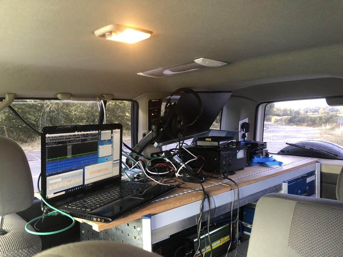 M0VSE Amateur Radio - Hitting the road